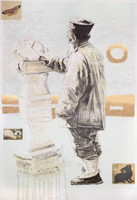 Hung Liu 刘虹, 'Butterfly Dreams: Waiting', 2011