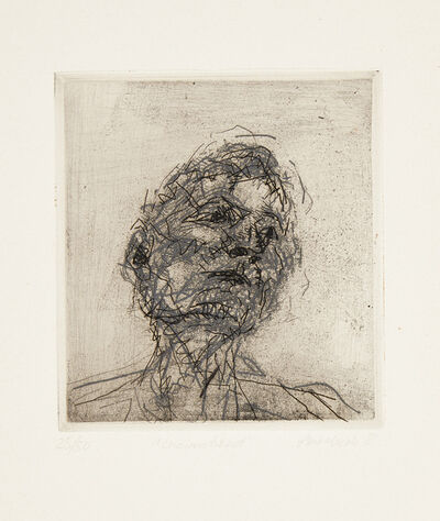 Frank Auerbach, 'Six Etchings of Heads [Marlborough 9-14]', 1980-82