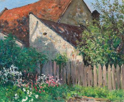 Alfred Zoff, 'Styrian Spring Landscape near Rottenmann', 1915