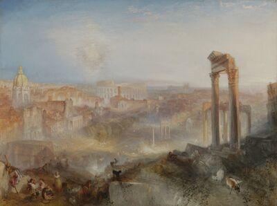J. M. W. Turner, 'Modern Rome - Campo Vaccino', 1839