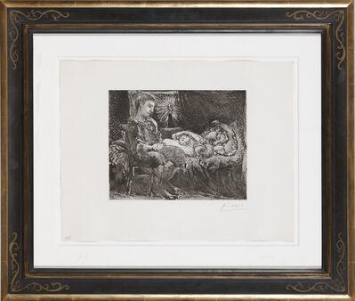 Pablo Picasso, 'Garçon et Dormeuse à la Chandelle', 1934