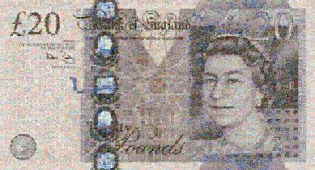 Robert Silvers, '20 Pound Note', 2008