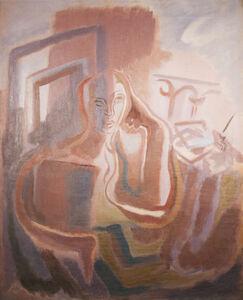 Germaine Derbecq, 'The poet', 1930