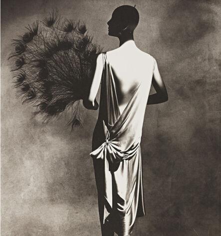 Irving Penn, 'Vionnet Dress with Fan', 1977