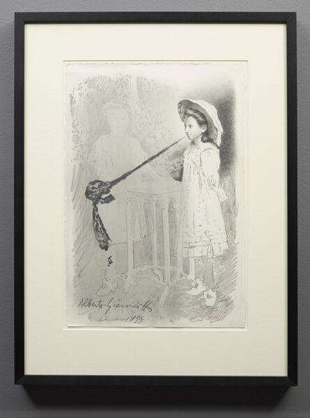Hynek Martinec, 'Alberto Giacometti', 2016