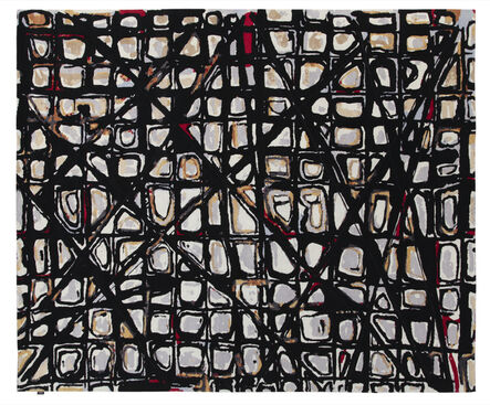 Thaddeus Wolfe, 'Patterned Carpet', 2017
