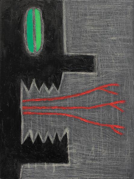Alex Gene Morrison, 'Green Eye (3 Red Tongues)', 2018