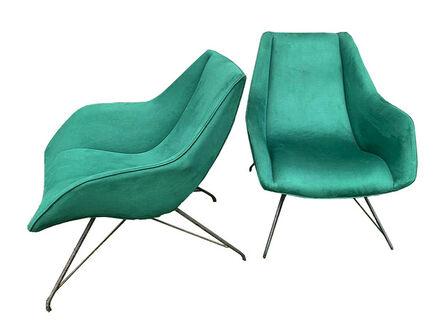 Carlo Hauner & Martin Eisler, 'Pair of Concha armchairs by Carlo Hauner and Martin Eisler, 1950's. ', ca. 1950