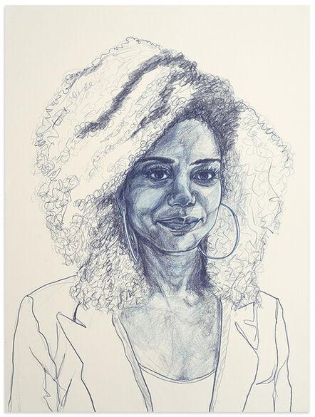 Patty Horing, 'Melanie', 2017