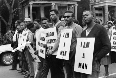 Builder Levy, 'I Am a Man/Union Justice Now, Memphis, TN', 1968