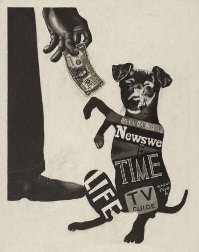 Sue Coe, 'Begging Dog', 1986