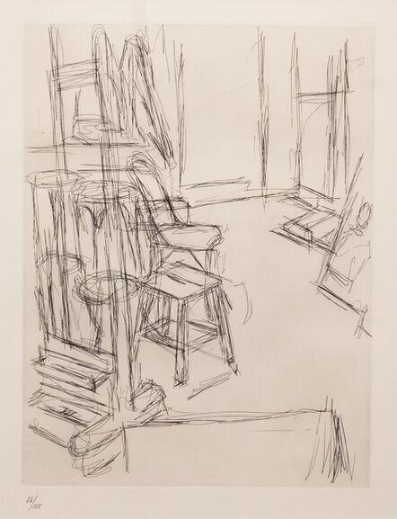 Alberto Giacometti, 'Atelier au chevalet', 1965