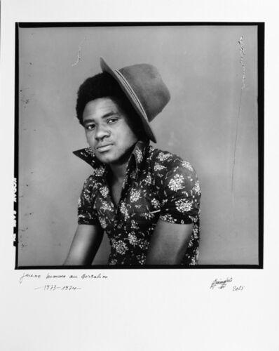Ambroise Ngaimoko, 'Jeune homme au borsalino', 1973-1974