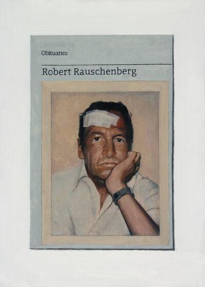 Hugh Mendes, 'Obituary: Robert Rauschenberg', 2015