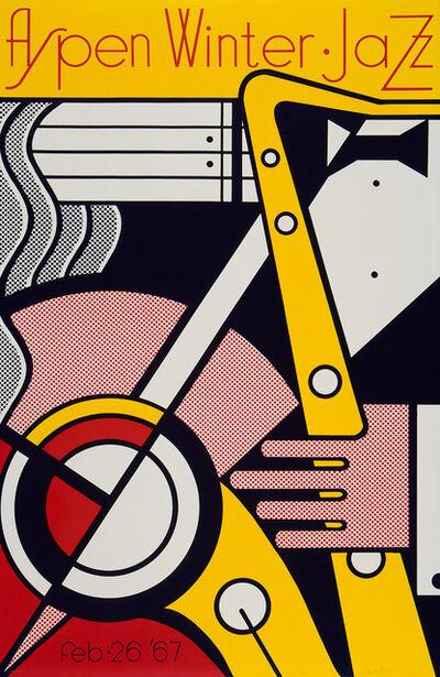 Roy Lichtenstein, 'Aspen Winter Jazz (Signed)', 1967