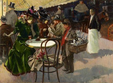 Louis Abel-Truchet, 'Au café', ca. c.1880