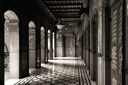 Prabir Purkayastha, ''The Eastern Corridor', Colonial period residence, Calcutta', 2011