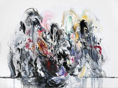 Maggi Hambling, 'Wall of Water, Amy Winehouse', 2011