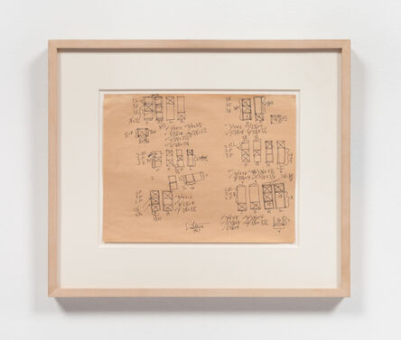 Sol LeWitt, 'Modular Structure (#6)', 1967