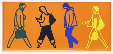 Julian Opie, 'Street (4)', 2020