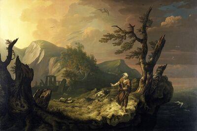 Thomas Jones, 'The Bard', 1774