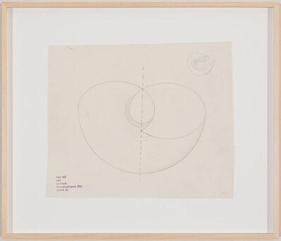 Max Bill, 'Entwurf zu einer Plastik', Ende 1940er