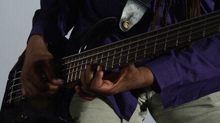 R. Luke DuBois, 'Melvin Gibbs, Electric Bass Guitar', 2014