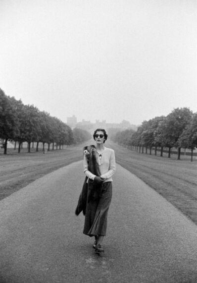 Pamela Hanson, 'Duchess of Windsor, Tatler', 1980