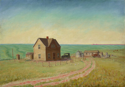 John Steuart Curry, 'Kansas Wheat Field', 1930