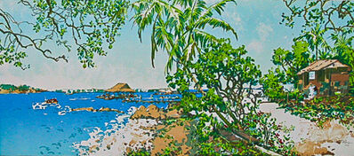 Ong Kim Seng, 'Sunny Day (Ubin Jetty series)', 2004
