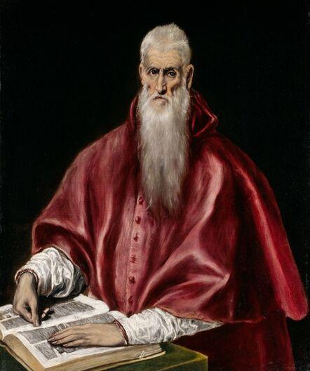 El Greco, 'Saint Jerome as a Scholar', ca. 1610