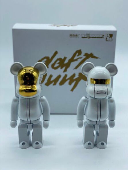 BE@RBRICK, 'Superalloy Daft Punk (White) (Set de 2) 200%', 2016
