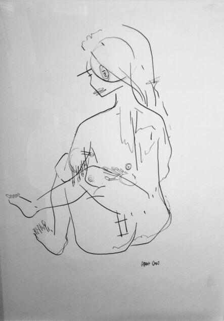 Grant Czuj, 'Sitting Nude', ca. 2019
