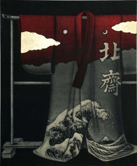 Katsunori Hamanishi, 'Hokusai Kimono', 2017