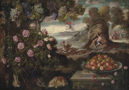 Tomás Hiepes, 'Still Life with Perseus, Andromeda and the dragon of Poseidon'