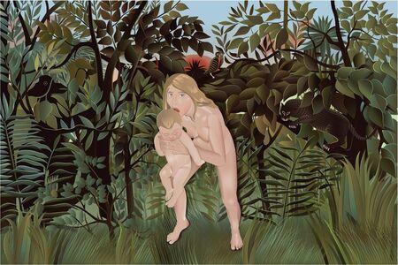 Julia Beliaeva, 'The Last Human Mother and Baby', 2015