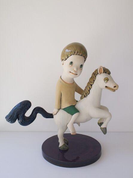 Yasuhito Kawasaki, 'Me Riding on a Horse', 2015