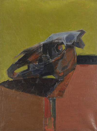 Gisèle Van Lange, 'Crâne de cheval ', 1962