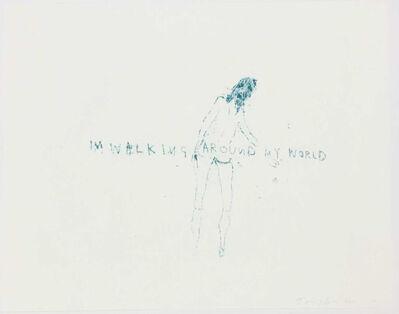 Tracey Emin, 'I'm Walking Around my World', 2011