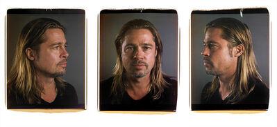 Chuck Close, 'Untitled (Brad)', 2013