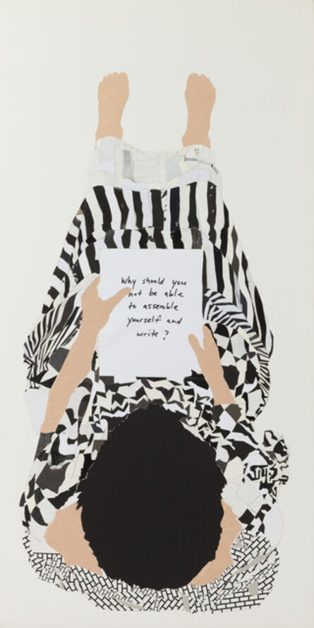 Frances Stark, 'Why should you not be able to assemble yourself and write?', 2008