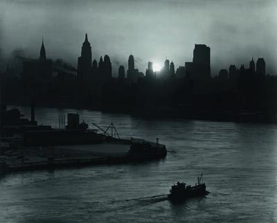Andreas Feininger, 'NEW YORK FROM THE HUDSON RIVER', ca. 1940