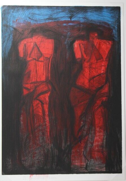 Jim Dine, 'Double Red Venus', 2002