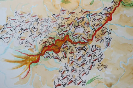 Mary Zehngut, 'Pronghorn Migration', 2018