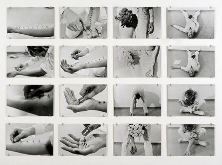 Gina Pane, 'Azione Sentimentale [Sentimental Action] ', 1974