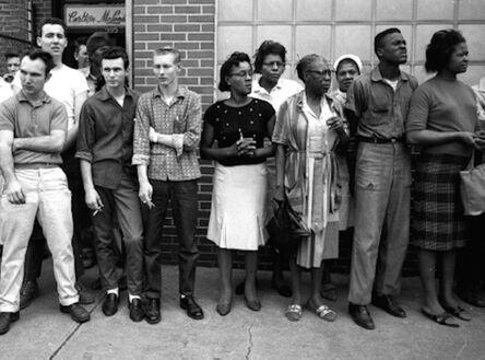Steve Schapiro, 'Montgomery Onlookers', 1965