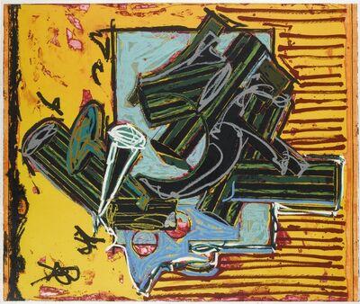 Frank Stella, 'La Penna di Hu', 1988