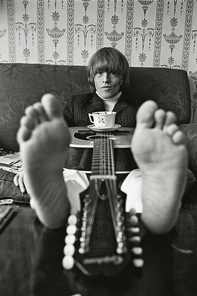 Bent Rej, 'Brian Jones at Home, London, 1965', 1965