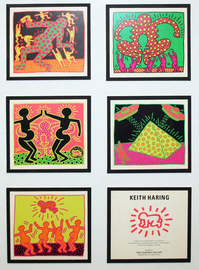 Keith Haring, 'FERTILITY SUITE (POSTCARDS)', 1983
