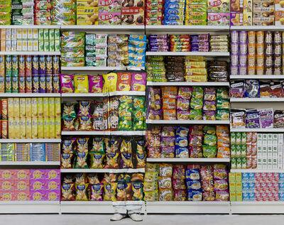 Liu Bolin, 'Puffed Food', 2011